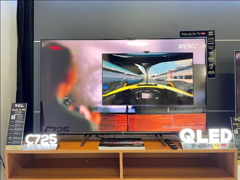 """TCL QLED 4K AI-IN C725 – Chiếc TV """"gây bão"""" cộng đồng công nghệ"""